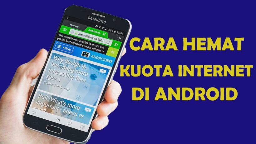 KUOTA INTERNET DI ANDROID